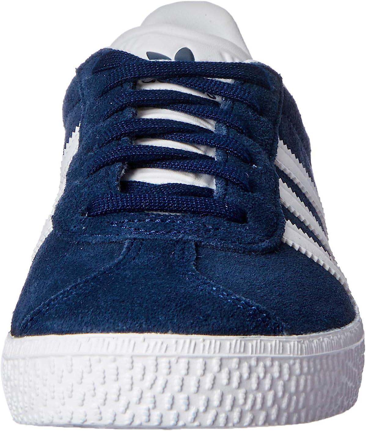 adidas Originals Gazelle 2 Ladies Footwear Black-White Womens Trainers Sneaker Shoes
