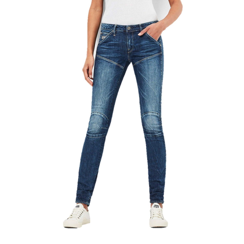 G-STAR RAW 5620 Elwood Mid Waist Skinny Jeans para Mujer