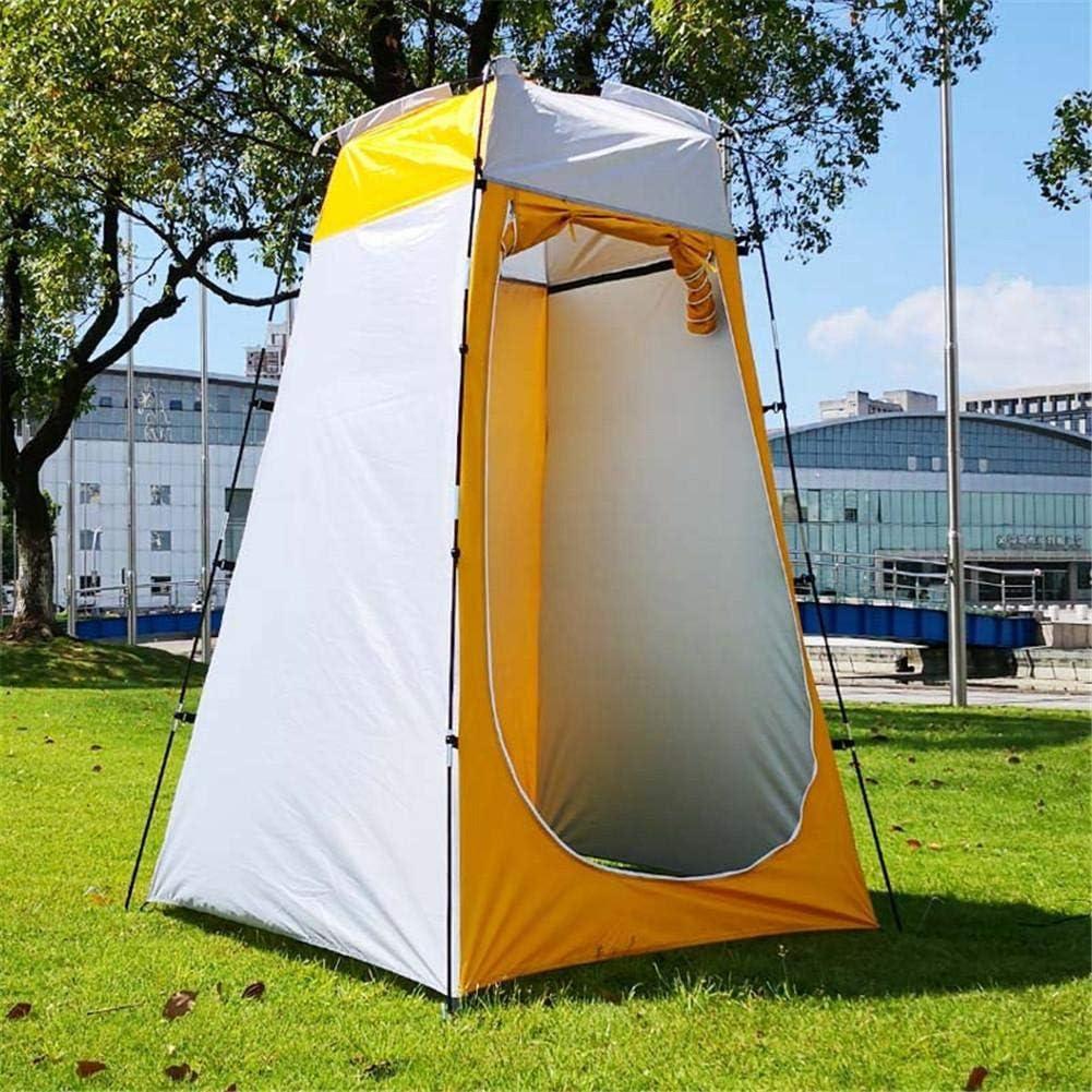 Tienda de ducha emergente Tienda de privacidad inodoro para campamento refugio para lluvia para camping y playa Ligero y resistente f/ácil de instalar Vestuario port/átil instant/áneo al aire libre