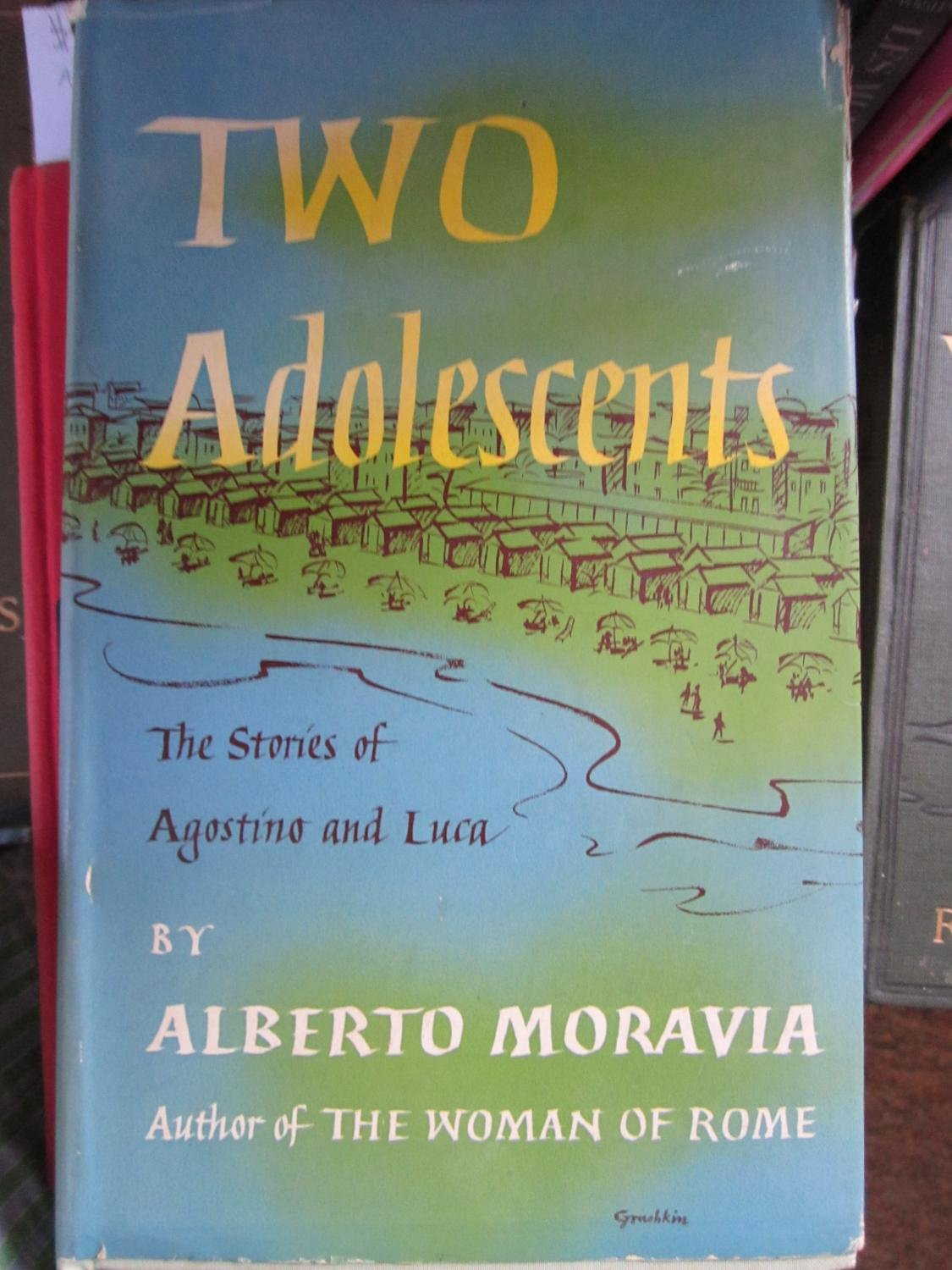 Two Adolescents: The Stories of Agostino & Luca: Alberto Moravia ...