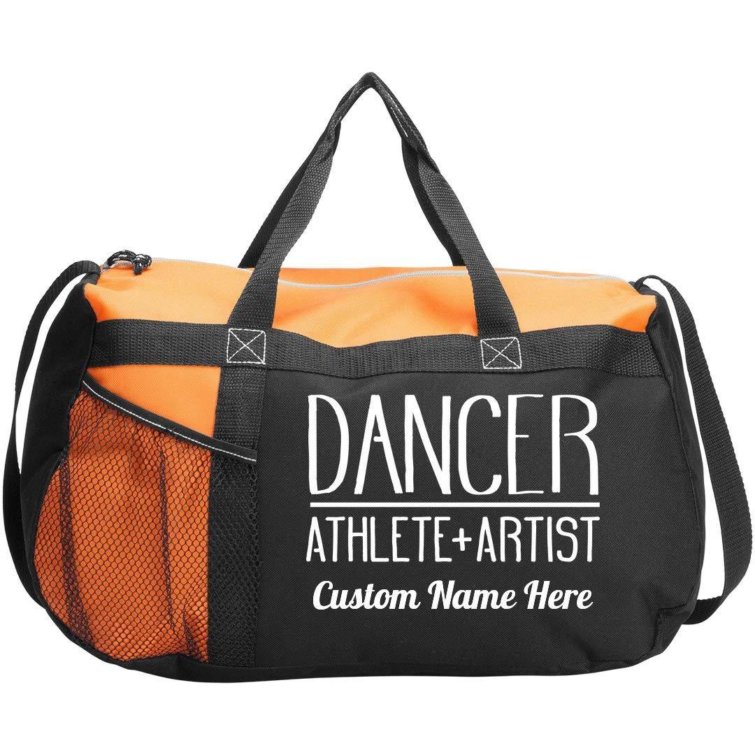 Custom Name Teen Dance Class Bag: Gym Duffel Bag