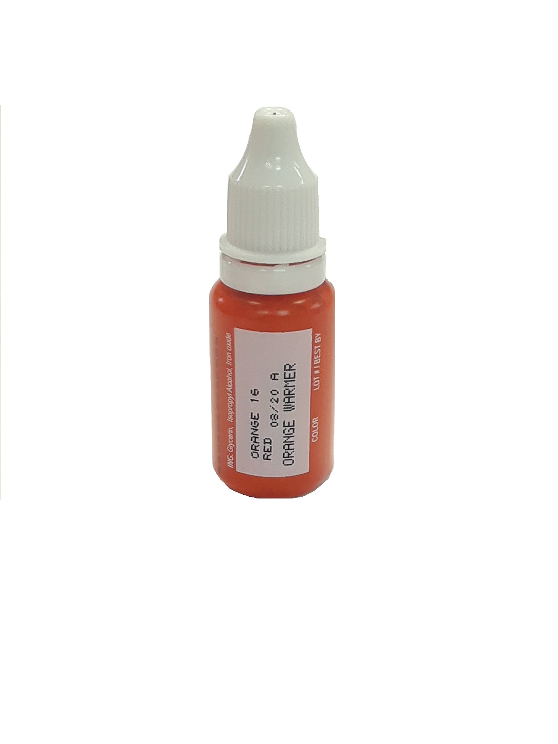 MICROBLADING supplies BioTouch Orange Warmer Microblading pigments 15ml Permanent Makeup Cosmetic Tattoo ink 1 bottle