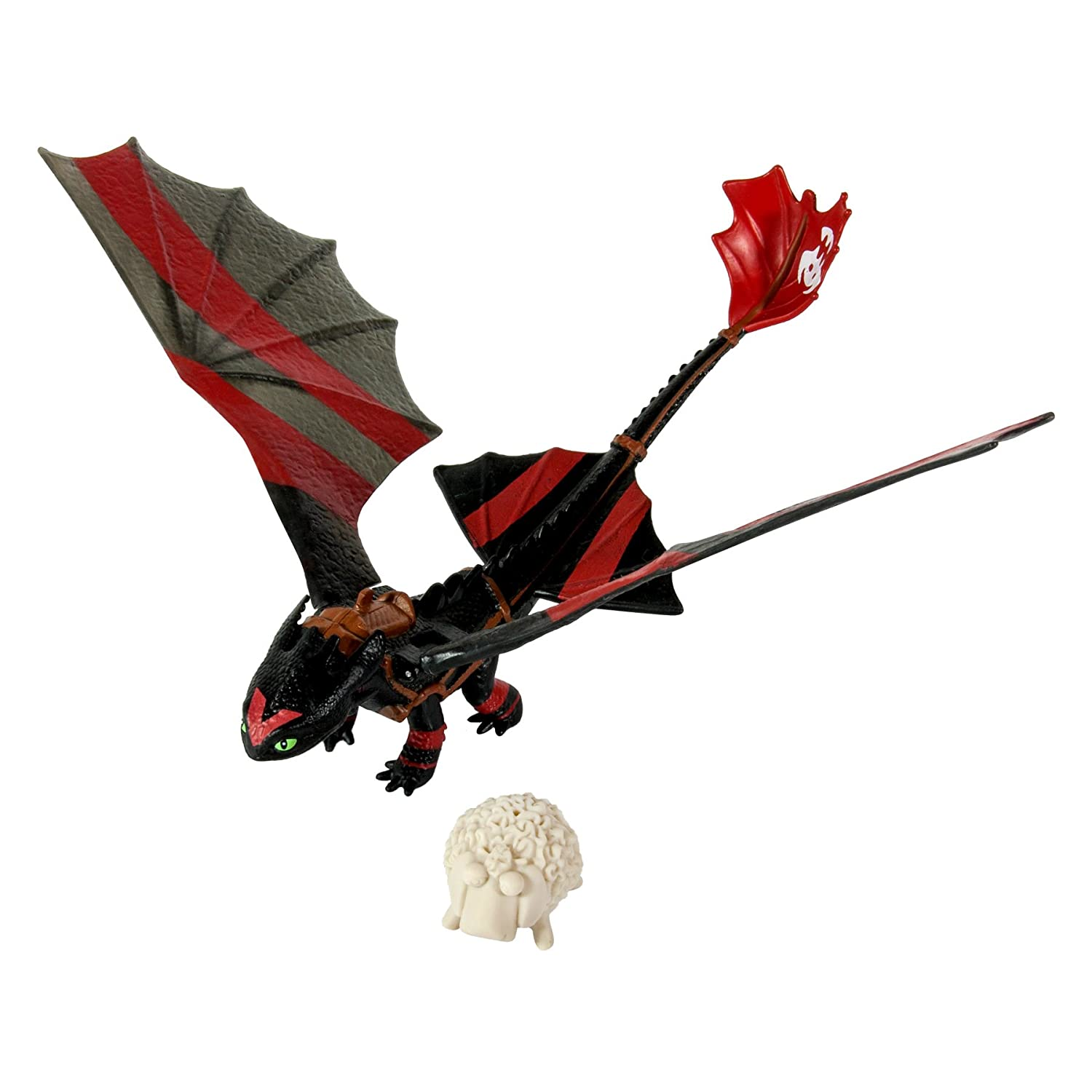 Dreamworks Dragons How to Train Your Dragon 2 Power Dragon Catapult Tail Toothless  Racing Edition Action Figure