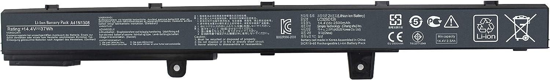 Shareway A41N1308 Laptop Battery for ASUS D550C D550CA D550MA D550MAV X451 X551 X551C X551CA X551MA X551MAV X551MAV-RCLN06 A31N1319 X45LI9C 0B110-00250100 [14.4V 37Wh]