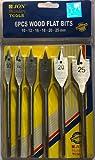 Jon Bhandari original die steel Flat drill bit set for wood ( 10 mm, 12mm, 16mm, 18mm, 20mm, 25mm )