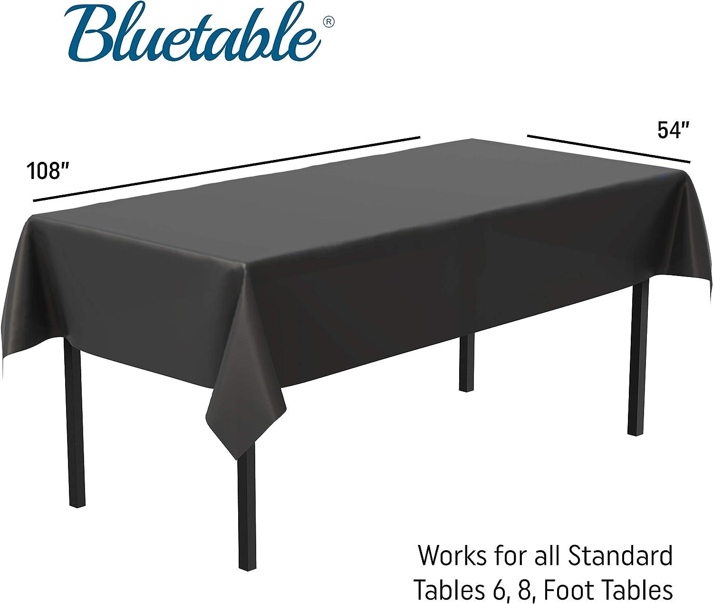 """PARIS Print TABLE COVER 54/"""" X 108/"""" Medium Weight Plastic CHOOSE PRINT DESIGN"""