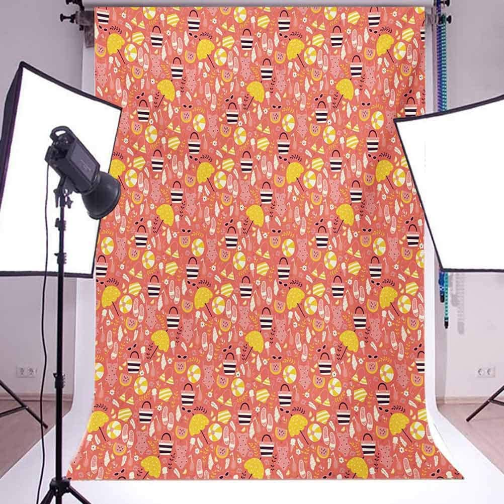 Egyptian Fish with Bannerfish Goldfish Parrotfish Wildlife Nature Red Sea Theme Image Background for Photography Kids Adult Photo Booth Video Shoot Vinyl Studio Props 8x10 FT Photography Backdrop