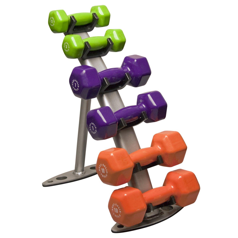 reebok 25 lb dumbbell. amazon.com : body solid gdr10 3 pair dumbell rack dumbbells sports \u0026 outdoors reebok 25 lb dumbbell t