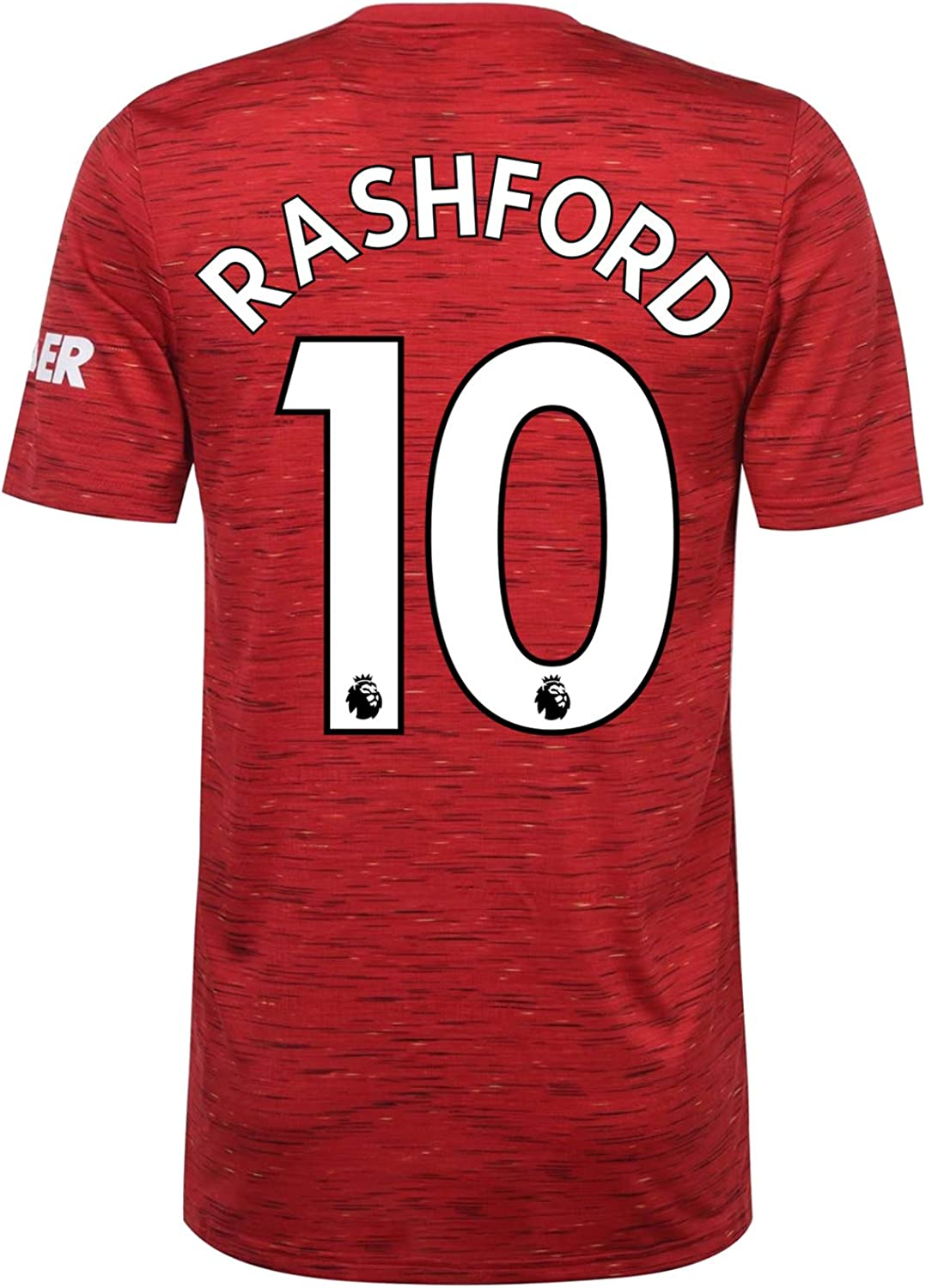 Amazon Com Manchester United Fc Home Shirt 2020 2021 Mens Official Soccer Kit Clothing
