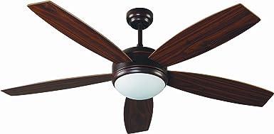 Imagen deFaro Barcelona 33314 - VANU Ventilador de techo con luz 5 palas de madera accionado por mando a distancia incluido           [Clase de eficiencia energética A]