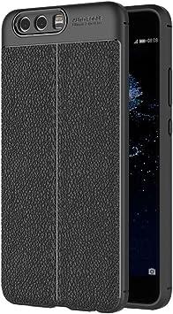 AICEK Funda Huawei P10 Plus, Negro Silicona Fundas para ...
