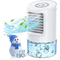 BOYON Portable Air Conditioner Fan, Mini Evaporative Air Cooler, Personal Air Cooler with Timer, Handle, 3 Speeds, 7…