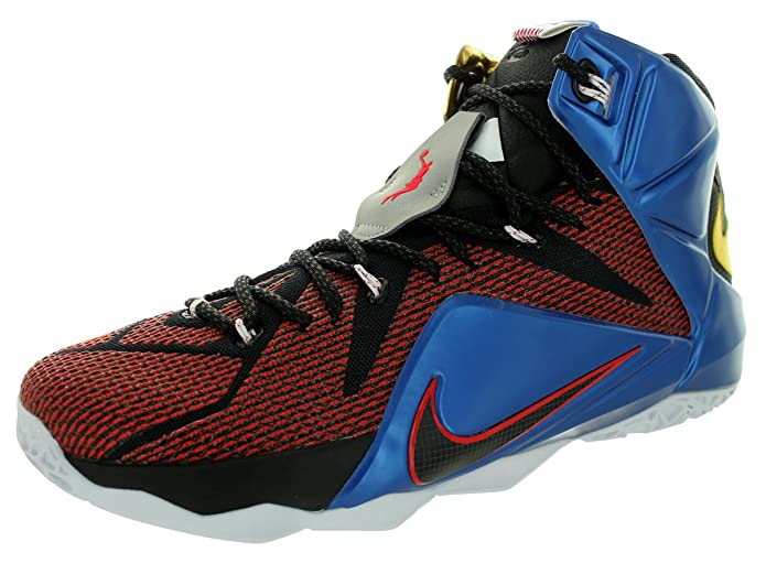 8d620288f Nike Lebron XII 12 SE 802193-909 Multi-Color Phantom Cacao Men s Basketball  Shoes (Size 11)  Buy Online at Low Prices in India - Amazon.in