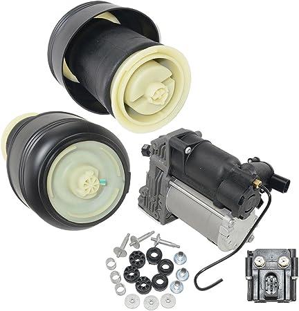 Amzparts Kompressor Pumpe Hinterluftfedern Für Bmw X5 E70 X6 E71 E72 Auto