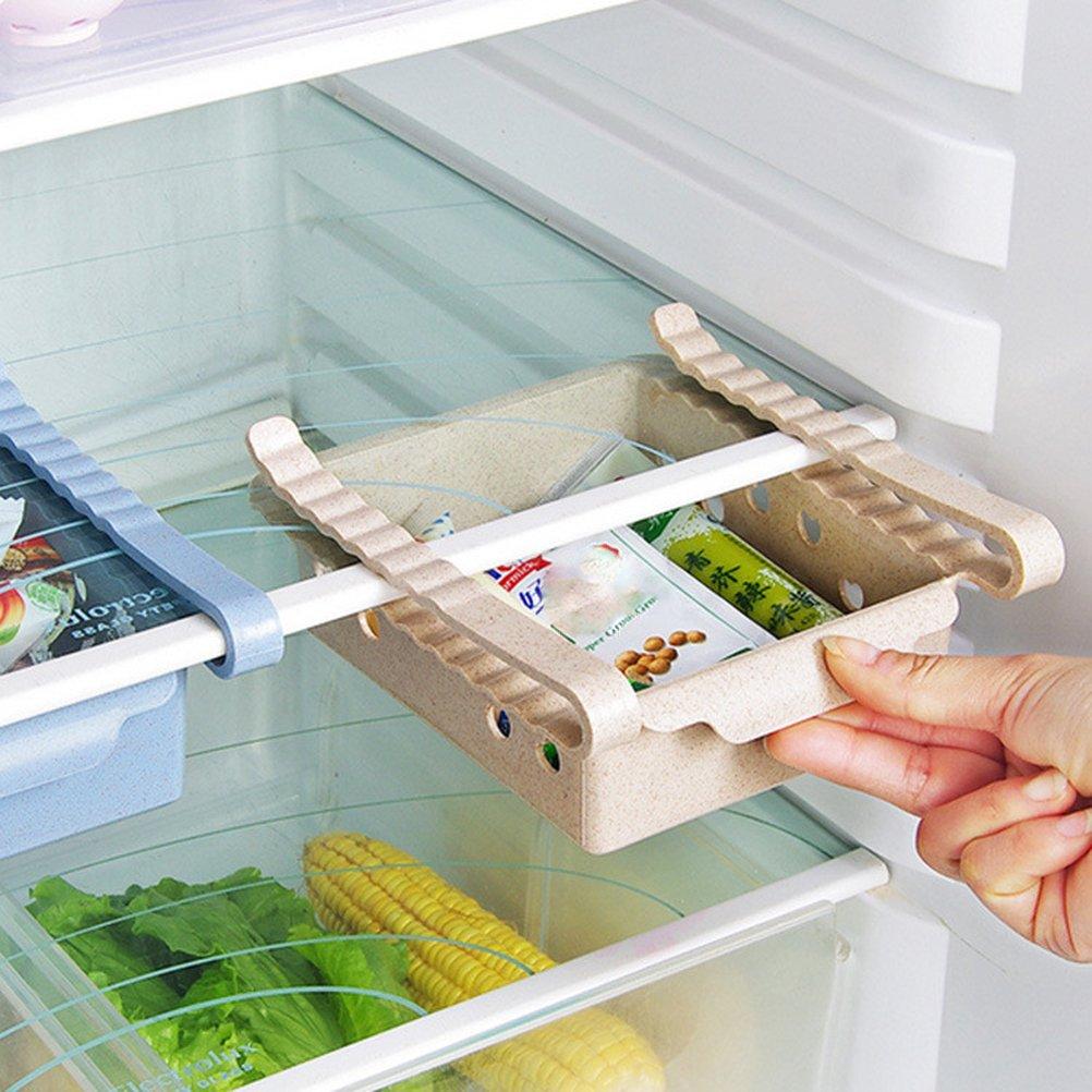 BESTONZON caja de almacenamiento para refrigerador, organizador de ...