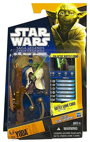 13 Yoda Hasbro 21394 Star Wars 2010 Saga Legends Action Figure SL No