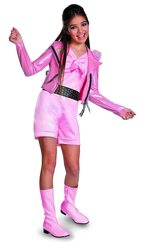 Teen Beach Movie Deluxe Lela Girls Costume ティーンビーチムービーデラックスレラ女の子コスチュームは「ハロウィンサイズ:Large (10-12) 43750  B00GGGW7RQ