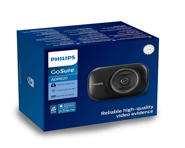 Philips 56750XM GoSure Full-HD Autokamera Dashcam ADR820