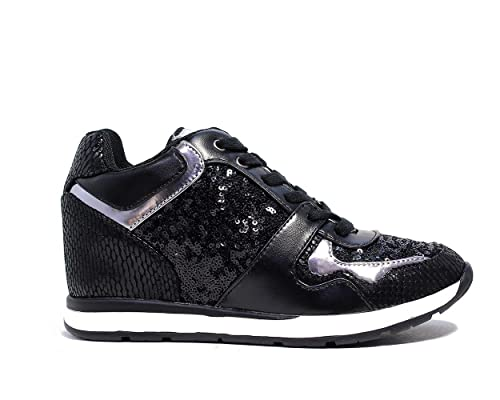 new arrival 92285 16199 Guess sneakers donna colore nero FLLCY3 FAB12 BLACK Nuova ...