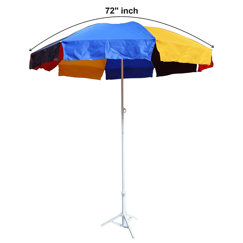 dd5eb124577ff Fendo Multicolour Fabric Outdoor Umbrella (310025_A, 36-inch): Amazon.in:  Bags, Wallets & Luggage