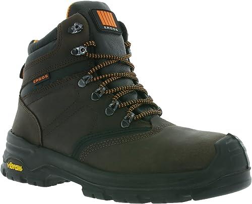 ERGOS ALPEN 2 S3 Chaussures sécurité Marron 544121, Braun