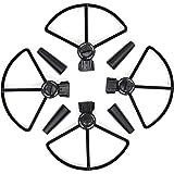 KEESIN DJI Spark Propeller Guard Schnelle Veröffentlichung Prop Blade Wächter mit Landung Gear Extender Schutz Zubehör für DJI Spark Drone Schwarz