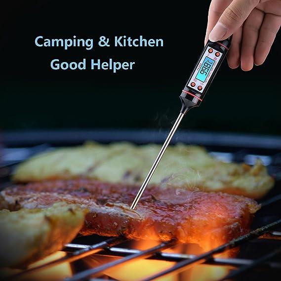 Indicado para Alimentos: carne, parrilla, cocina, barbacoa, leche y agua.: Amazon.es: Hogar