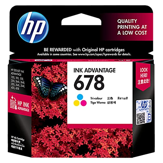 HP 678 Tri Color Ink Cartridge Ink Cartridges