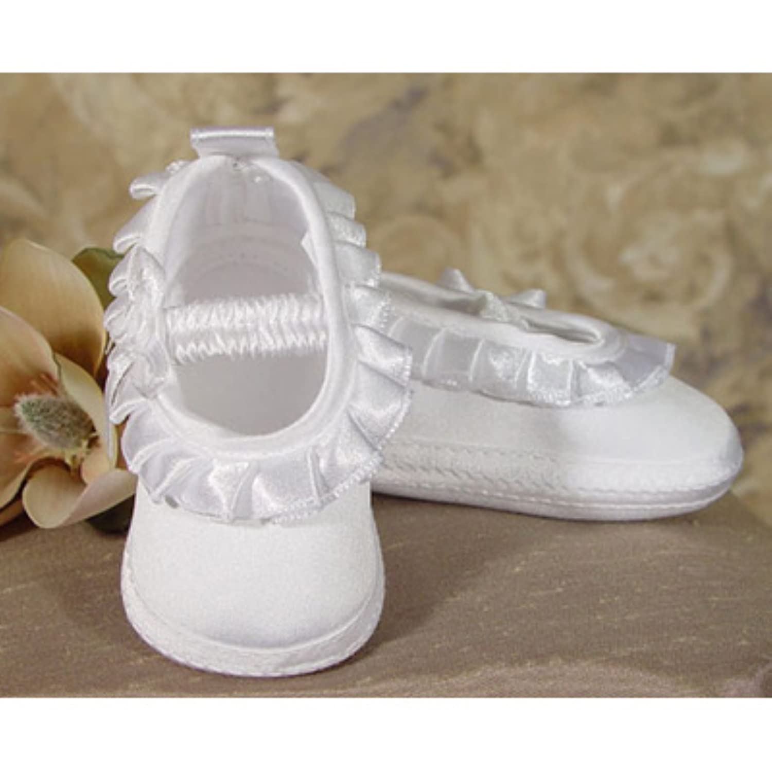 Girl Satin Pleated Shoes