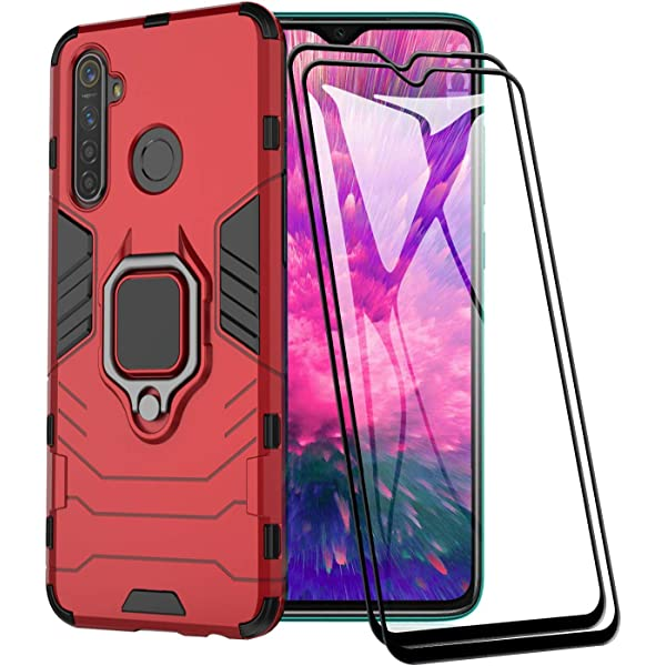 Dedux Funda OPPO Realme 5 Pro, [Tough Armor Series] Robusta ...