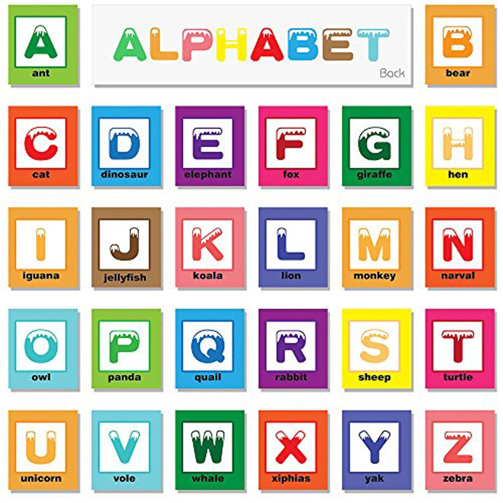 teytoy Baby Toy Zoo Series 26pcs Soft Alphabet Cards with Cloth Bag for Over 0 Years by teytoy (Image #5)