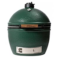 Keramikgrill Big Green Egg XLarge AXLHD XXL Keramik grün Ceramic Smoker Garten ✔ Deckel ✔ oval ✔ Grillen mit Holzkohle