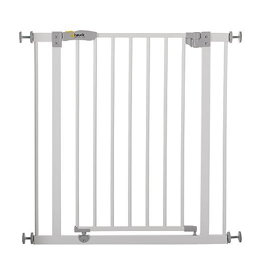 404 opinioni per Hauck 597026 Open N Stop, Cancelletto di Sicurezza in Metallo, Bianco