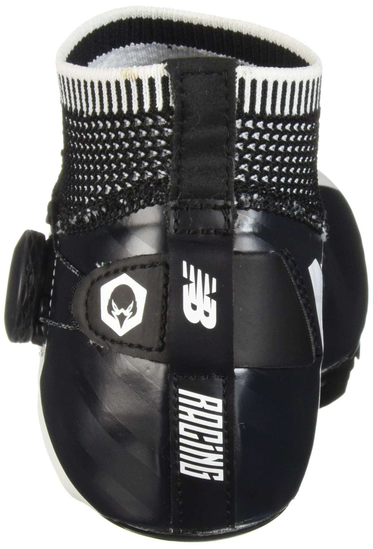 New Balance Men's Sigma V2 Vazee Track Shoe White/Black 4 D US by New Balance (Image #2)