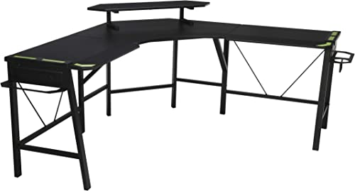 RESPAWN RSP-2010 Gaming L-Desk GREEN