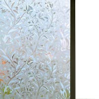 Niviy Excellent Quality 3D Static Cling Window Film Non-Adhesive Window Covering...