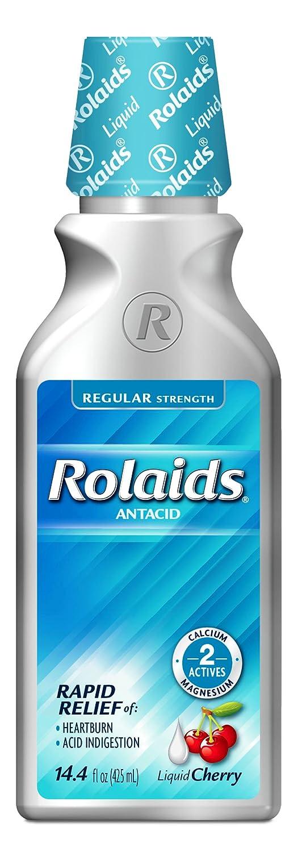 Amazon.com: Rolaids Regular Strength Liquid, Cherry, 14.4 Fluid Ounce: Health & Personal Care