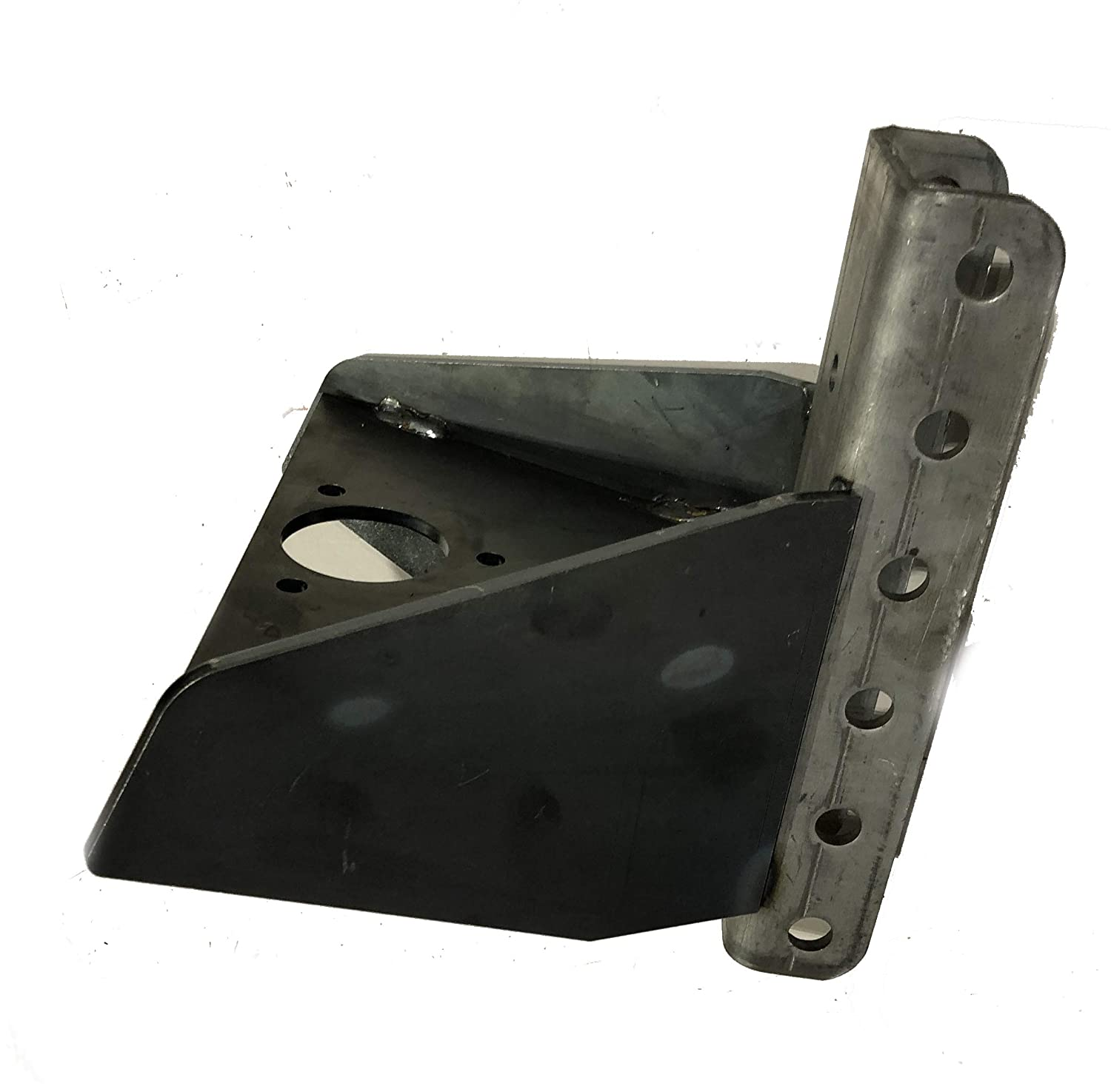 Shocker Hitch Vertical Channel Weld On Tongue Adapter for Trailer A-Frames Completely Welded