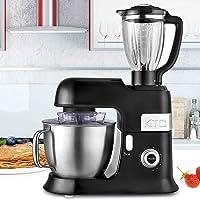 Kitchencook Expert_xl Robot Pétrin 6.5l Kitchencook Avec Blender Sécurisé Et Accessoires En Teflon Expert Xl