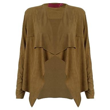 bordeaux coat bargain drapes dakota dark women wade drape jacket s womens suede olive this miss shop faux don draped bb t