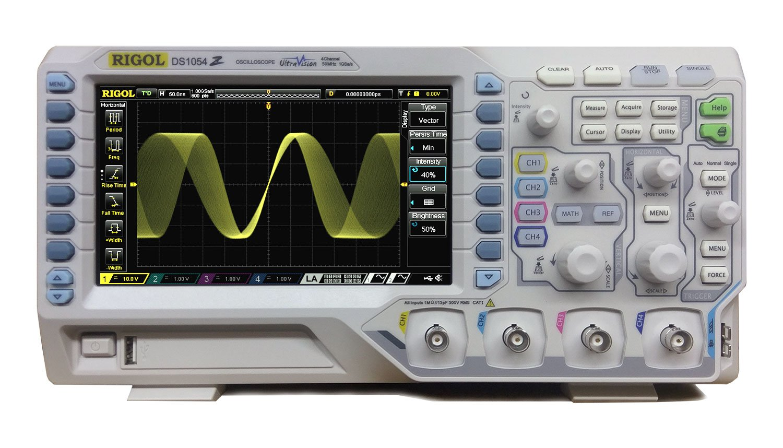 RIGOL (リゴル) デジタルオシロスコープ 50MHz 4ch 1GSa/s 【国内正規品】,DS1054Z<br /> 4アナログ・チャネル