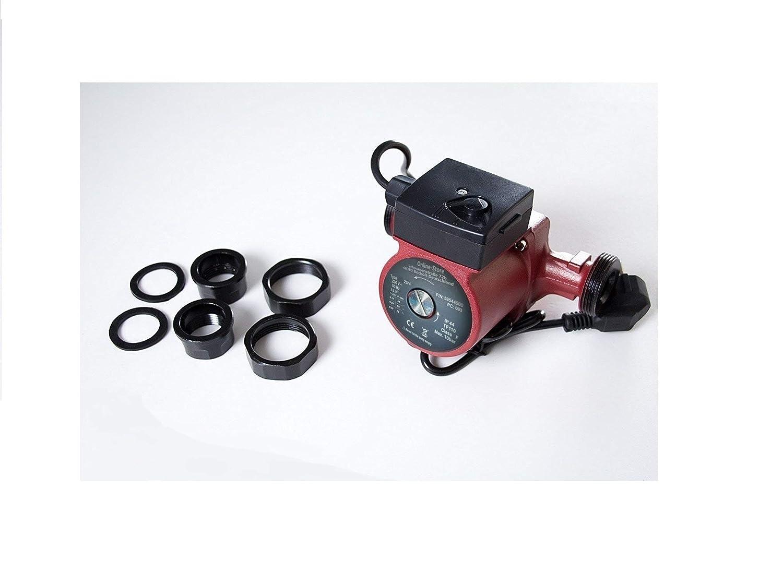 Circulateur 25//4-180 pour chauffage central pompe de recirculation Circulateur eau chaude sanitairesyst/ème de chauffage central