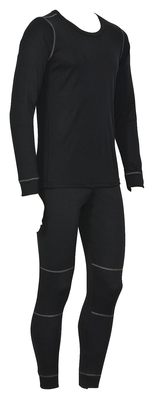 icefeld - Coordinato abbigliamento termico - Uomo Icefeld® traspirante termica di sci grigio o nero Nero Large