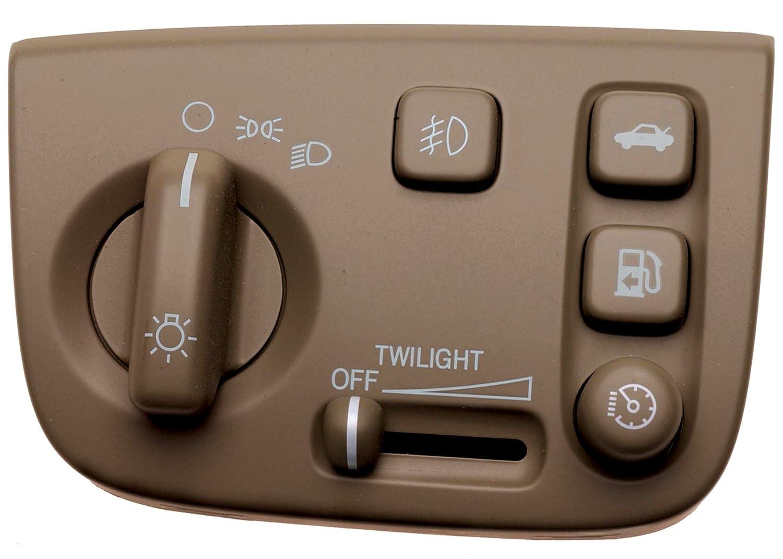 ACDelco D1585F GM Original Equipment Medium Dark Wheat Automatic Headlamp Adjuster Switch D1585FACM