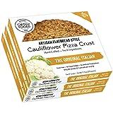 Cali'flour Foods Gluten Free, Low Carb Cauliflower Original Italian Pizza Crusts - 3 Boxes - (6 Total Crusts, 2 Per Box)