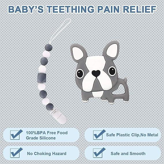 Amazon.com: Juguetes para dentición de bebé, alivio del ...