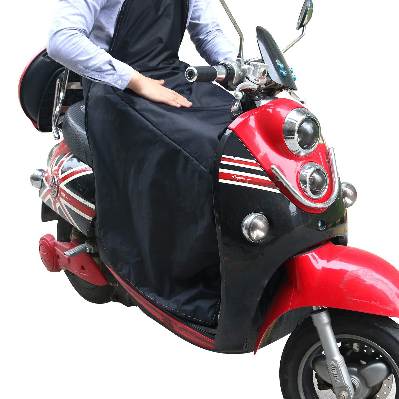 Beinschutz ALISTAR Roller Nä sseschutz fü r Motorroller Rollerfahrer universal Wetterschutz Regenschutz/schwarz ALISTAR EU