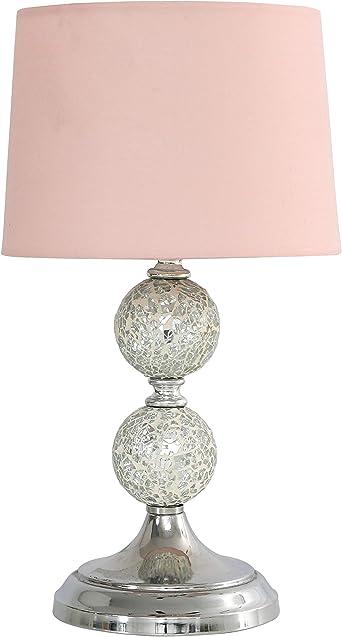 Glitter Table Lamp Soft Pink: Amazon