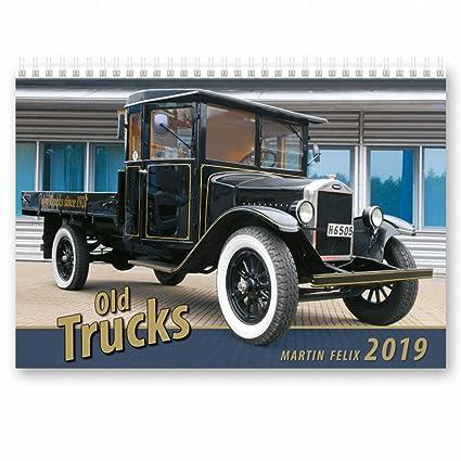 Calendario Camion 2019.Kalpa Calendari 2019 Calendario Da Parete 2019 Vecchi Calendari Di Camion