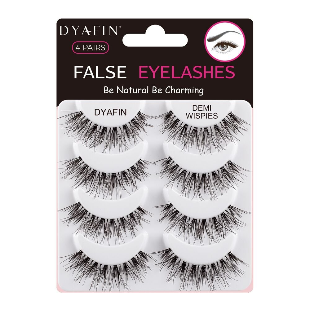 Amazon Dyafin Eyelashes Handmade False Eyelashes Lightweight
